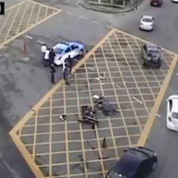 Acidente entre moto e ônibus deixa dois mortos, no Maracanã