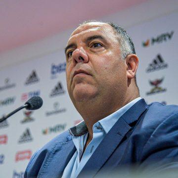 """Após Flamengo anunciar cinco reforços, Marcos Braz diz: """"Elenco não está fechado"""""""