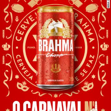 Tá de volta! Brahma retorna ao carnaval do Rio de Janeiro e será a cerveja oficial do Carnaval N1