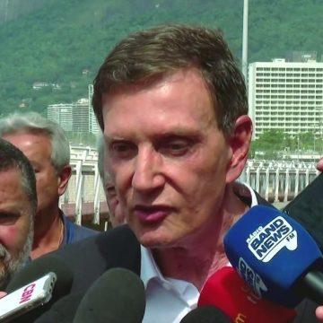 Crivella garante que obras na Av. Niemeyer estão prontas e diz que já pediu a reabertura da via