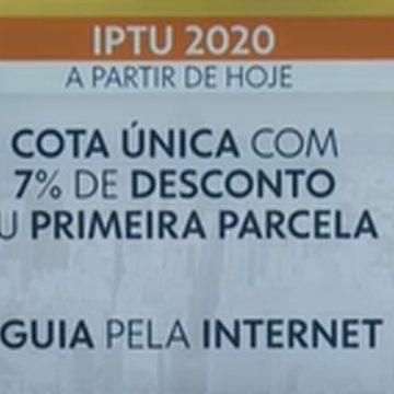 IPTU 2020: Rio disponibiliza emissão da 2ª via do carnê a partir desta sexta