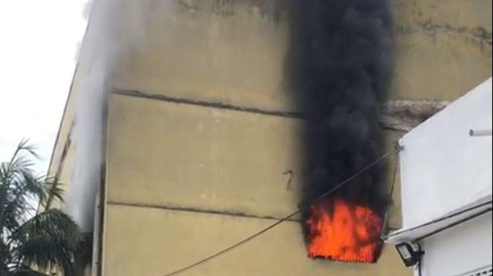 Incêndio atinge presídio em Benfica, na Zona Norte do Rio