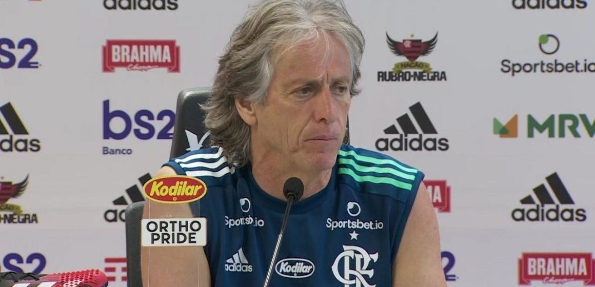 Jorge Jesus dá início ao 2020 do Flamengo e indica time principal contra o Resende, na segunda