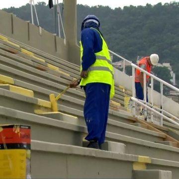 Obras no Sambódromo do Rio para o carnaval de 2020 só ficam prontas na primeira semana de fevereiro