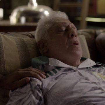 Penúltimo capítulo: Alberto pede para morrer em casa