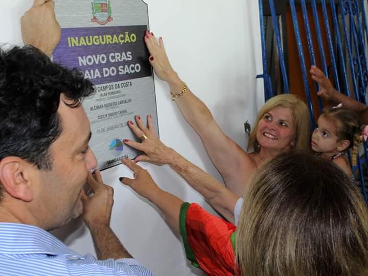 Prefeitura de Mangaratiba inaugura o CRAS e a 3ª Idade da Praia do Saco que contam com nova sede