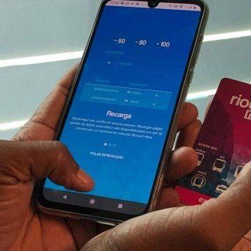 RioCard Mais passa a oferecer opção de recarga do cartão também por aplicativo