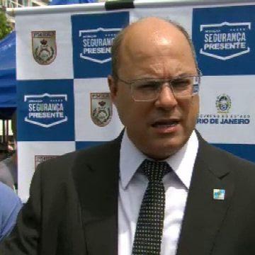 Witzel diz acreditar que crise da água na Cedae foi 'sabotagem'