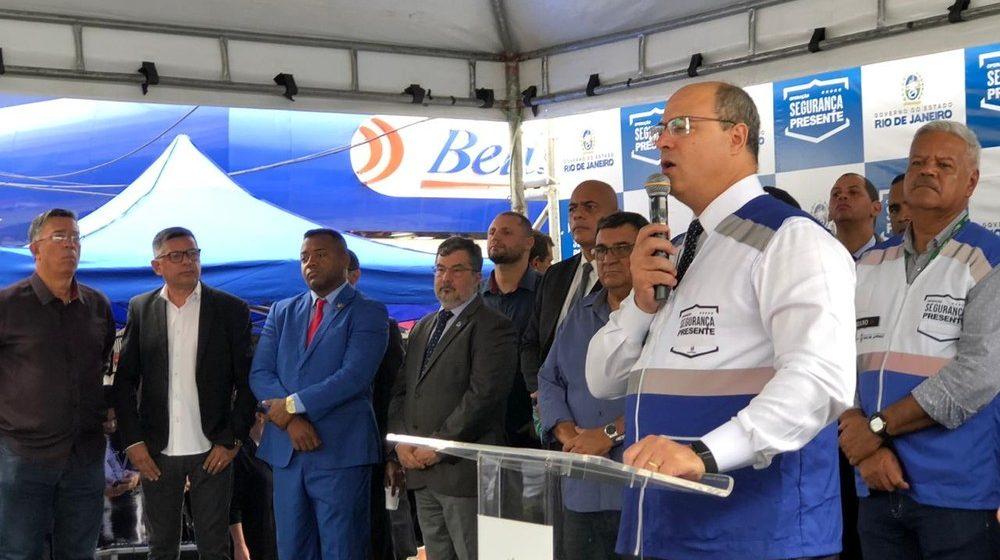 Witzel promete definir ainda este ano implantação da Linha 3 ou estação das barcas em São Gonçalo