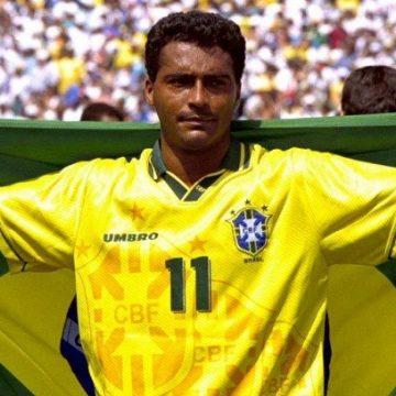 Romário comemora mais um ano de vida e de muita história no futebol mundial