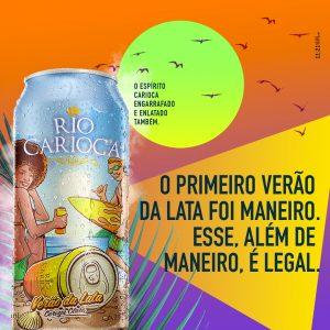 Cerveja em lata da Rio Carioca chega ao mercado no dia 20 de Janeiro com fórmula nova e rótulo diferente.