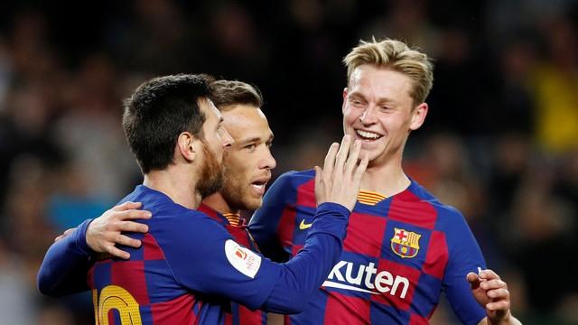 Messi faz dois, Arthur deixa o dele, e Barcelona avança na Copa do Rei com goleada sobre o Leganés