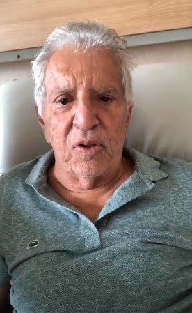 Carlos Alberto de Nóbrega é internado com infecção generalizada