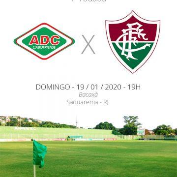 Cabofriense X Fluminense: veja como assistir, escalações, desfalques e arbitragem