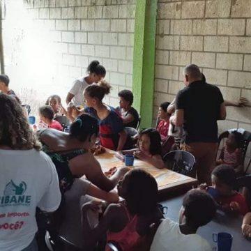 Gogó da Ema, em Belford Roxo, recebe projeto solidário para a volta às aulas