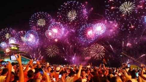 Rio tem recorde de turistas no réveillon: 1,7 milhão de visitantes, alta de 21,4%