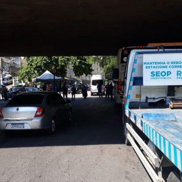 Mais de 700 carros foram rebocados no Rio durante o réveillon
