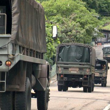 Militares do Exército são enviados para ajudar cidades afetadas pela chuva no Sul do ES