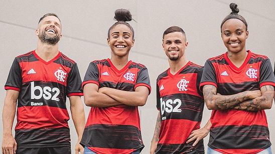 adidas e Flamengo lançam novo uniforme com resgate do hino oficial no manto e remixes de artistas