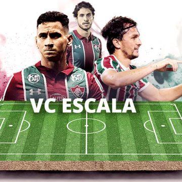 VC ESCALA: torcida do Fluminense monta time com Ganso, Pacheco, Matheus Ferraz, Nino e Hudson