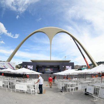 Apuração do carnaval 2020 do Rio em FOTOS