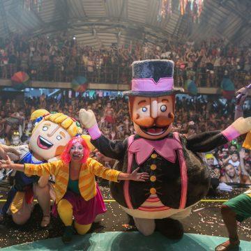 Bloco do Bita anima o carnaval da criançada
