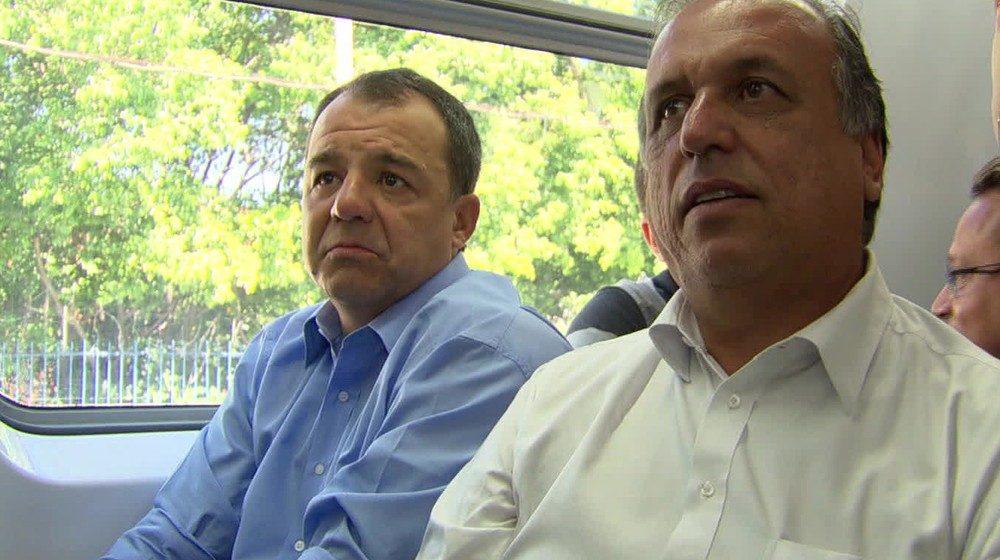 Cabral e Pezão são esperados em depoimento da Lava Jato nesta segunda-feira (3)