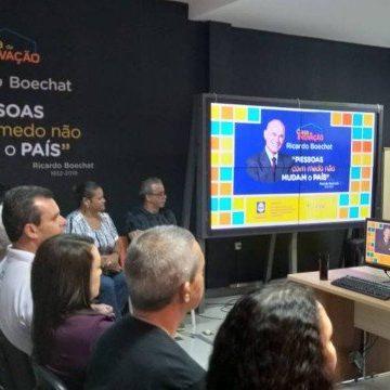 Casa da Inovação Ricardo Boechat em Nova Iguaçu é inaugurada após 1 ano de morte