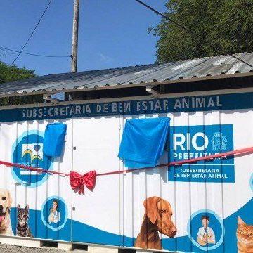 Clínica veterinária para atendimento gratuito de cães e gatos é inaugurada em Bangu