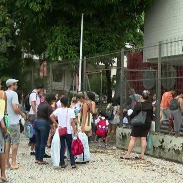 Escolas da rede municipal do Rio retomam aulas, após adiamento por conta da crise da água da Cedae
