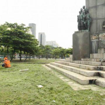 Estátua roubada: do lixo ao luxo
