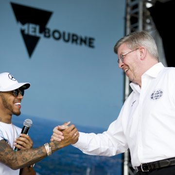 Diretor esportivo da Fórmula 1, Ross Brawn compara talento de Hamilton com o de Schumacher