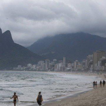 Frente fria chega ao Rio e há previsão de chuva até sexta-feira