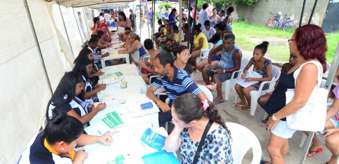 """Jardim Palmares, em Nova Iguaçu, recebe serviços do """"Prefeitura Presente"""""""