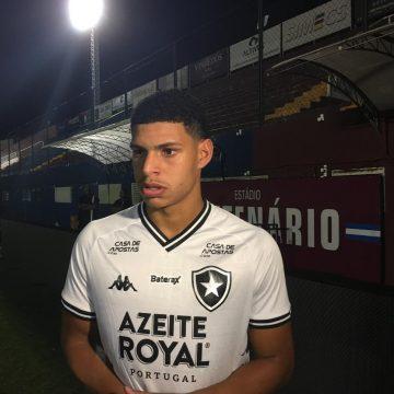 Luis Henrique garante confiança em alta para o clássico e se anima com Honda no Botafogo