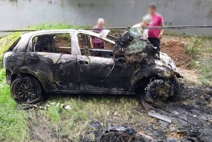 PM morre em acidente de trânsito e tem corpo carbonizado