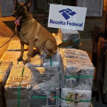 Receita Federal apreende cocaína em contêiner no Porto do Rio