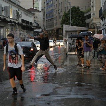 Rio pode ter chuva forte nesta segunda-feira