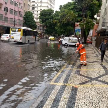 Rio volta ao estágio de atenção após previsão de chuva