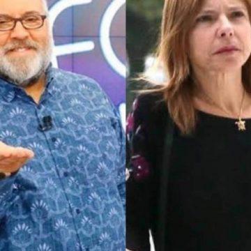 Viúva de Gugu aciona Leão Lobo na Justiça por difamação