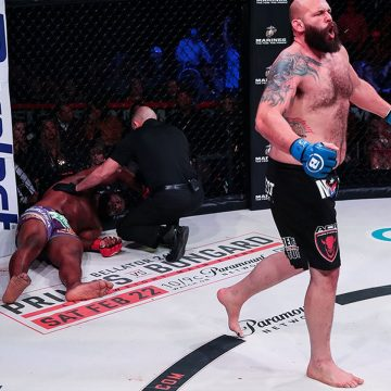 Ex-lutador do UFC, Timothy Johnson atropela adversário invicto no Bellator 239
