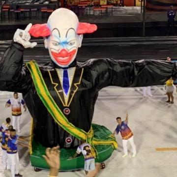 Escola Vigário Geral abre carnaval do Rio com crítica a Bolsonaro