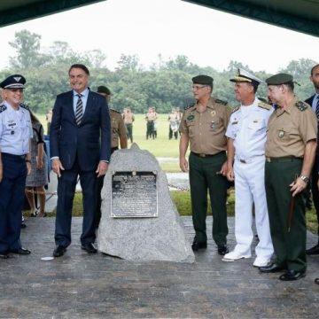 Bolsonaro critica governadores do Nordeste ao lançar colégio militar em SP