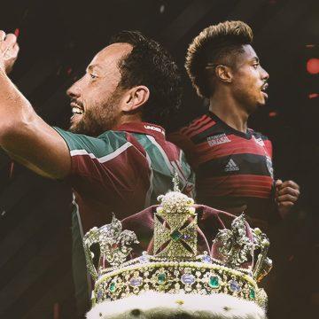 """Fluminense x Flamengo: Nenê e Bruno Henrique têm duelo à parte pela coroa de """"Rei dos Clássicos"""""""