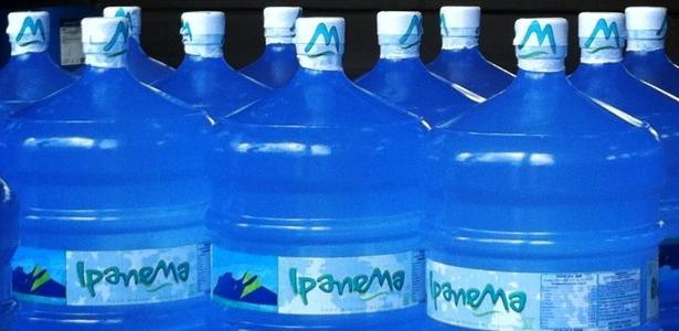 Vigilância Sanitária municipal determina interdição da água mineral Ipanema em galão de 20 litros