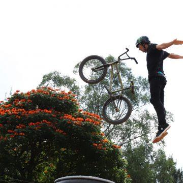 Com manobras radicais quase perfeitas, Leandro Overall é campeão do BMX Estilo Livre