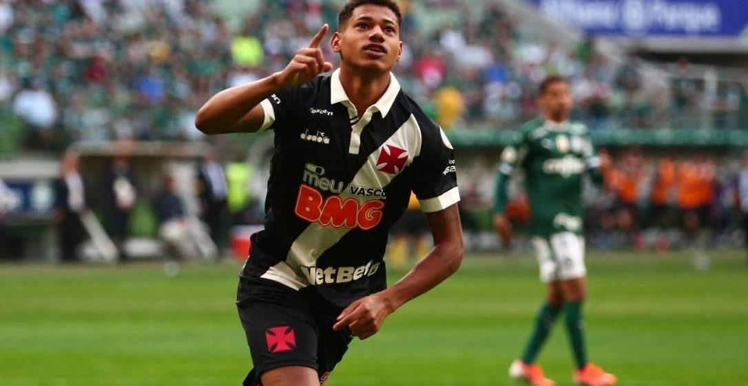 Palmeiras procura Vasco para tentar contratar Marrony
