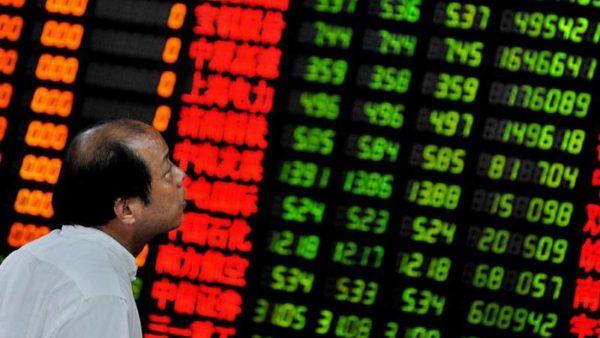 Bolsas da China têm maior recuo desde 2015