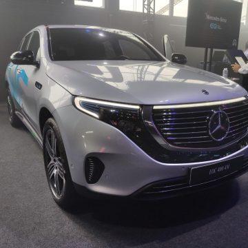 Mercedes-Benz lança EQC, seu primeiro carro elétrico no Brasil, por R$ 477.900