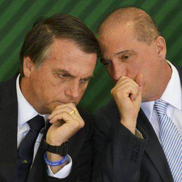 Onyx se reúne com Bolsonaro no Alvorada: 'Fica tudo igual, não mudou nada', diz ministro